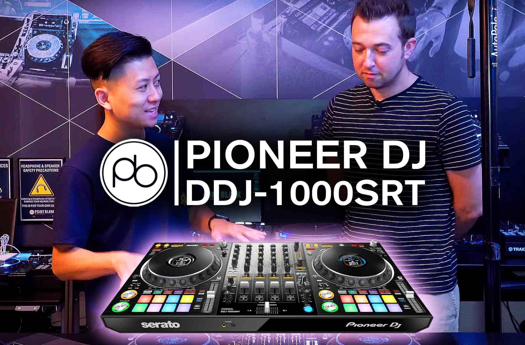 First Look: Pioneer DJ DDJ-1000SRT Overview w/ Point Blank | DJMag com