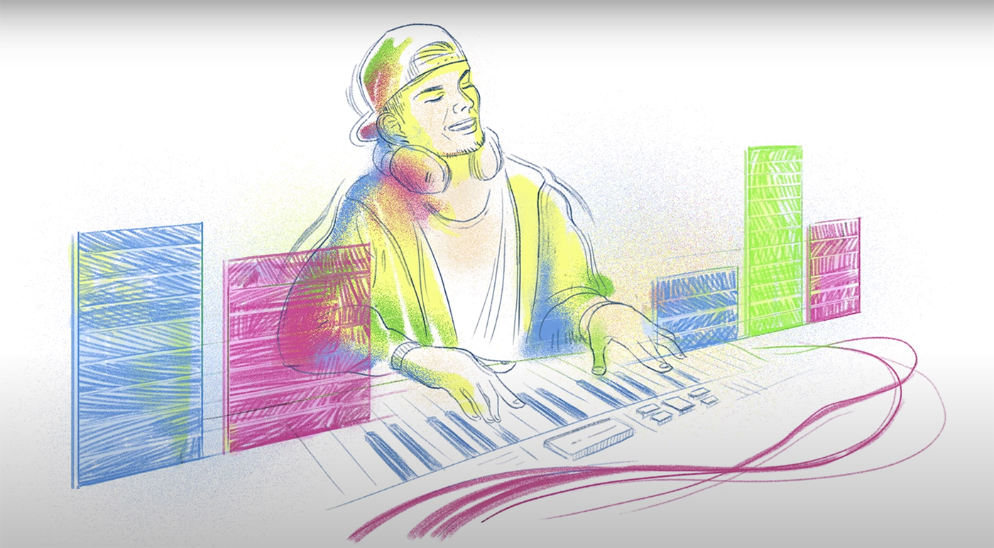 Avicii 'Wake Me Up' animation shared by Google to celebrate late DJ's birthday - DJ Mag