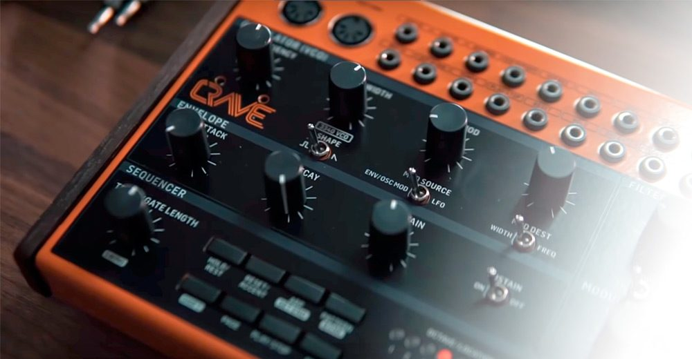 Behringer's new semi-modular synth is another analogue