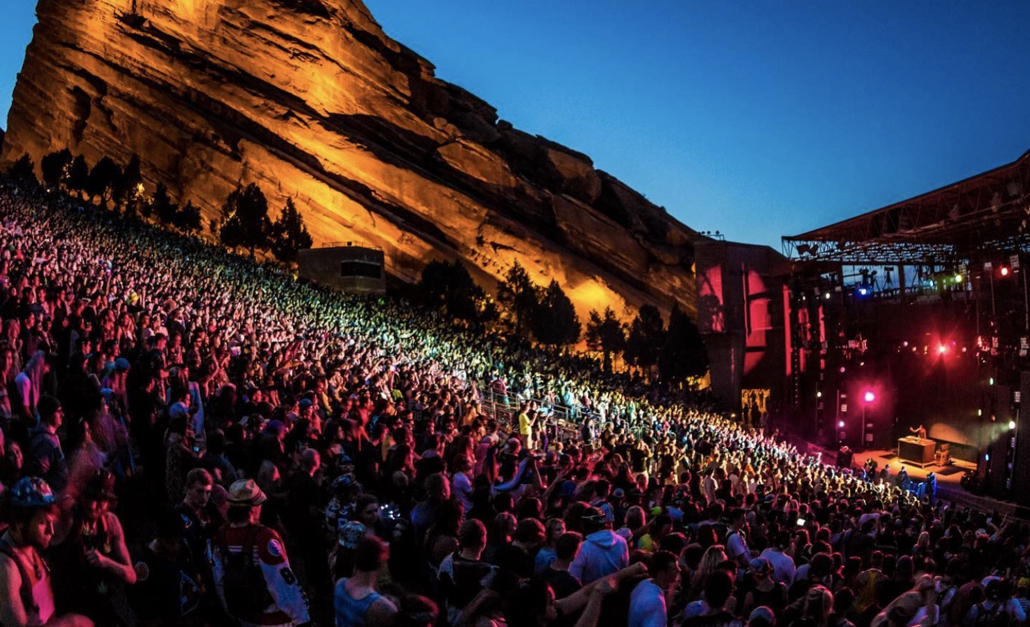 Red Rocks to reopen with 2,500 capacity   DJMag.com