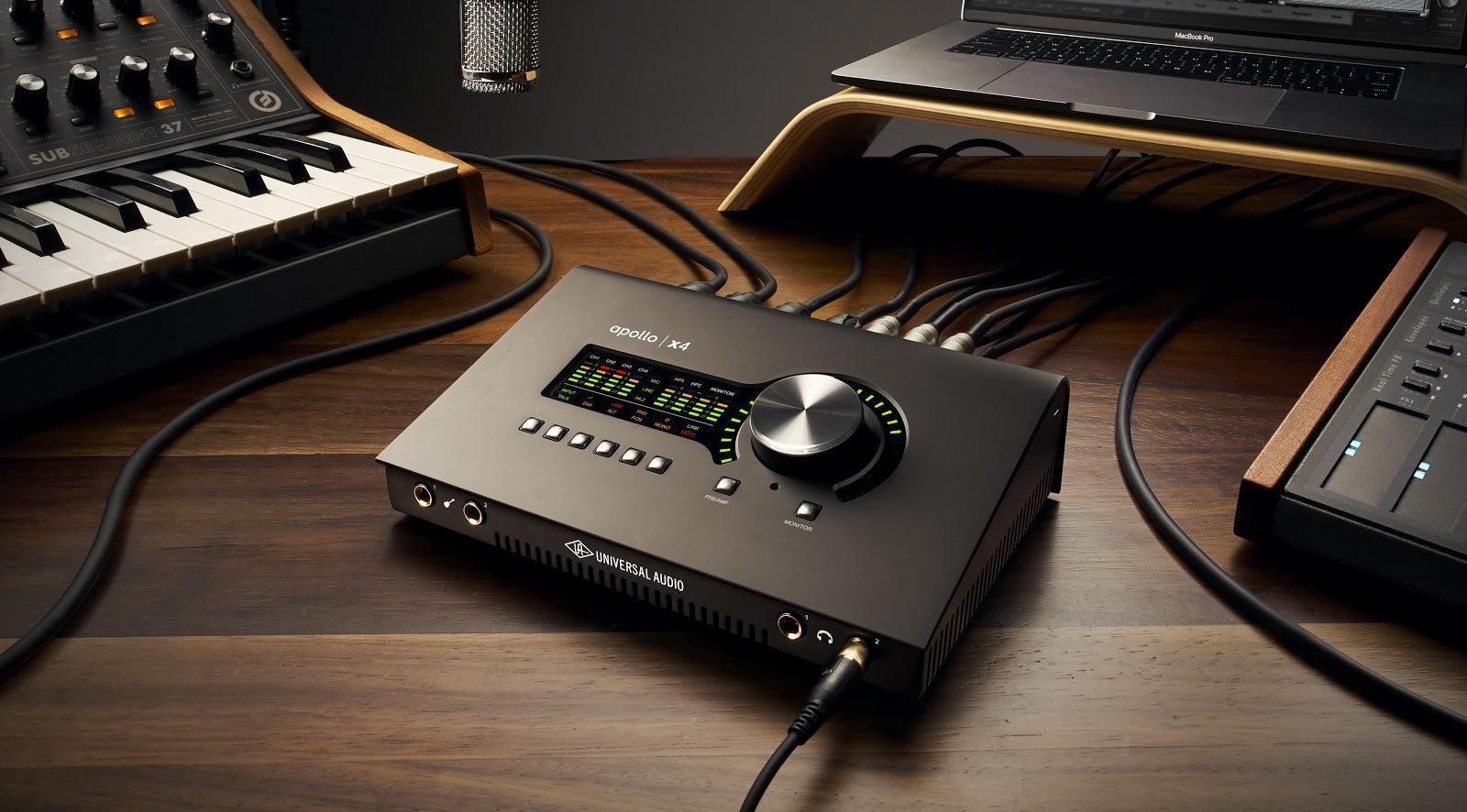 Universal Audio announce new Apollo Twin X and x4