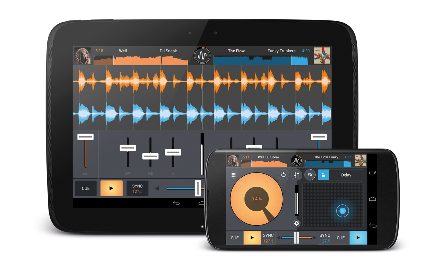 MIXVIBES BRING LINK TO ANDROID DEVICES