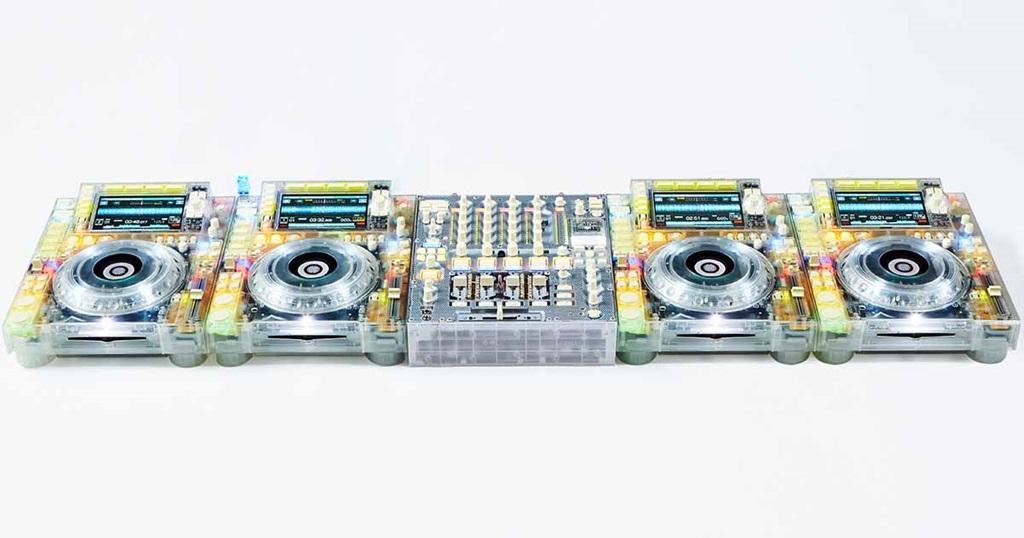 Pioneer DJ & Virgil Abloh Reveal Transparent CDJ & Mixer