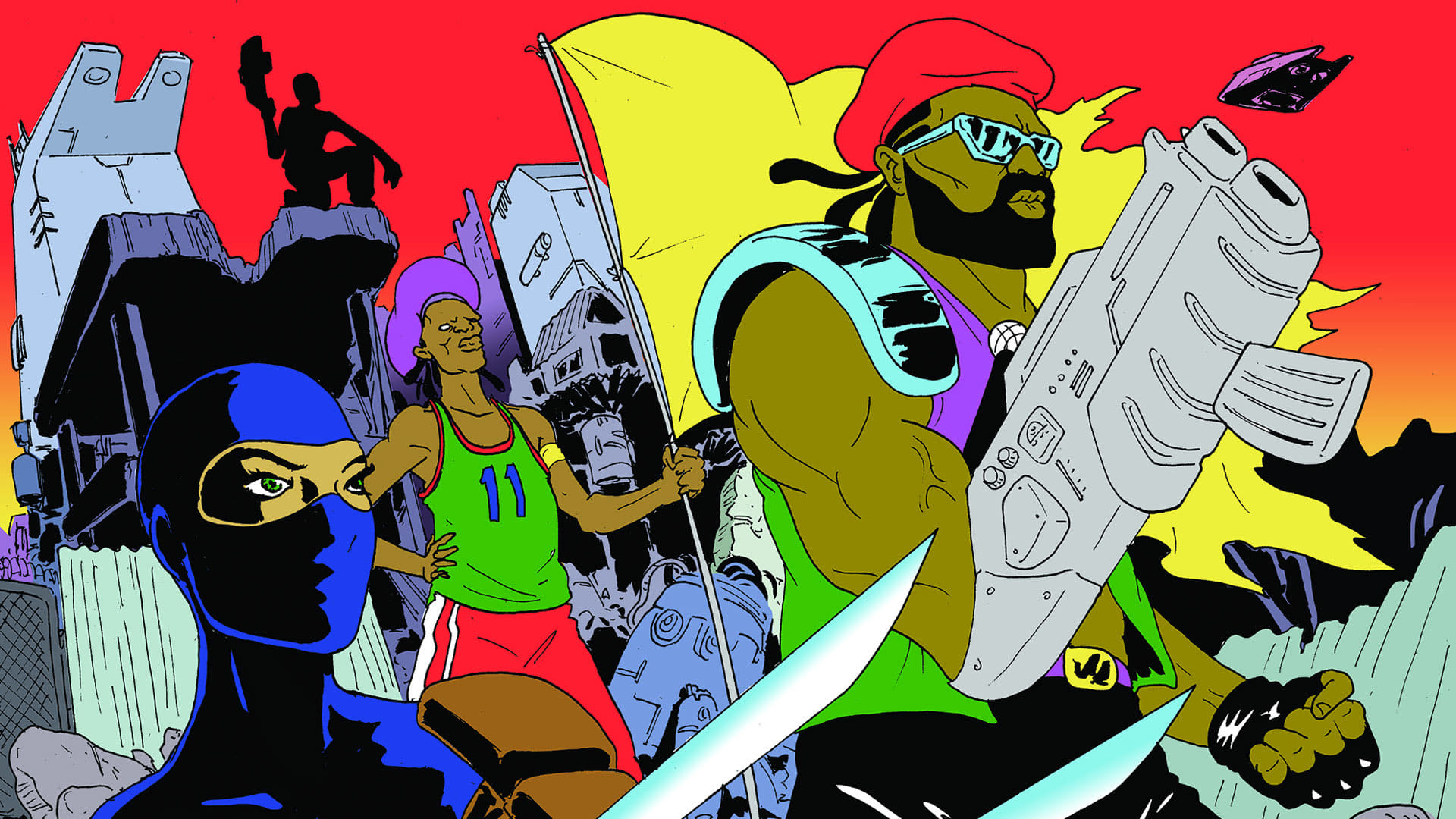 The Major Lazer TV show will be available in full on YouTube this month