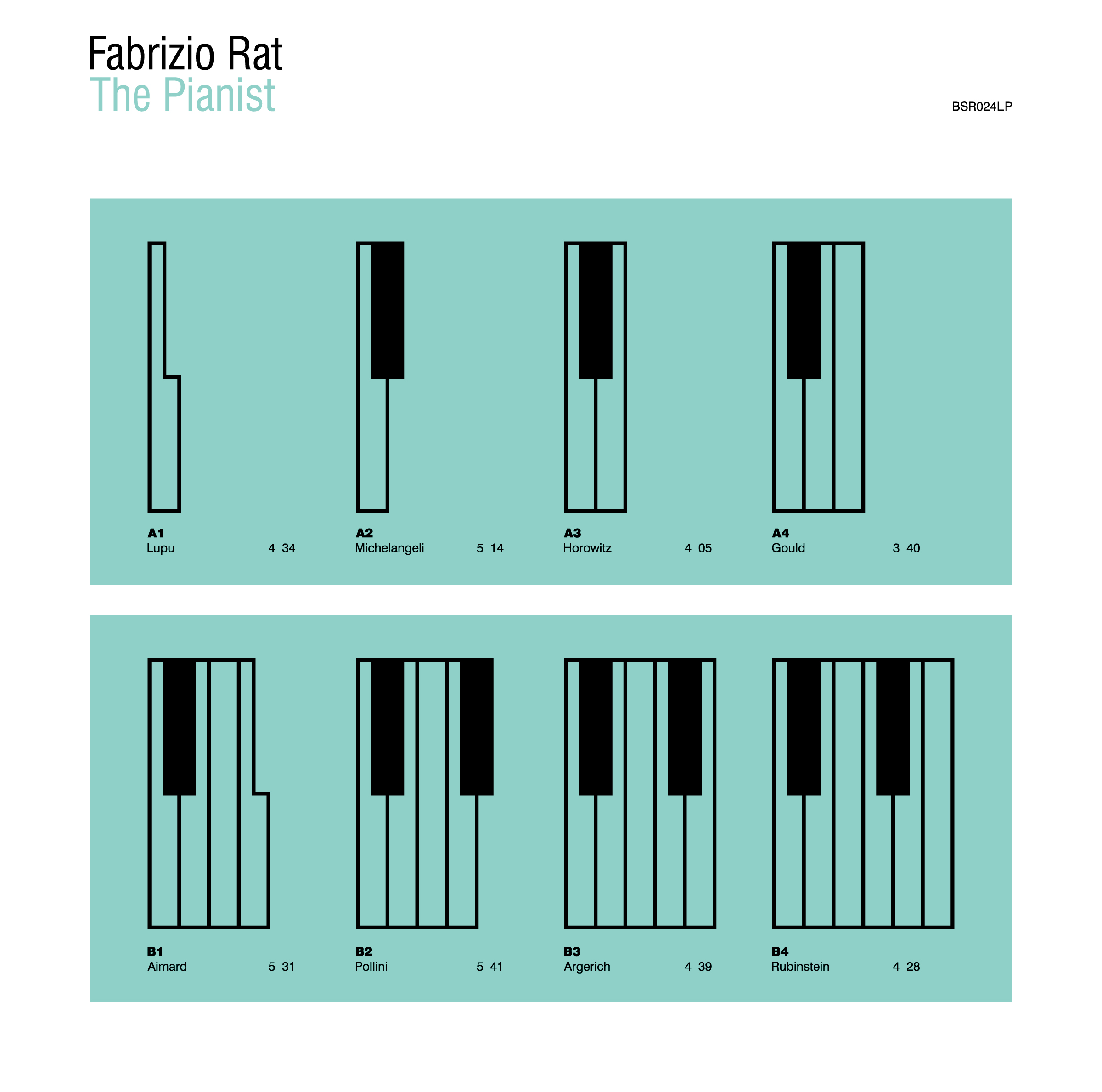 Fabrizio Rat - The Pianist