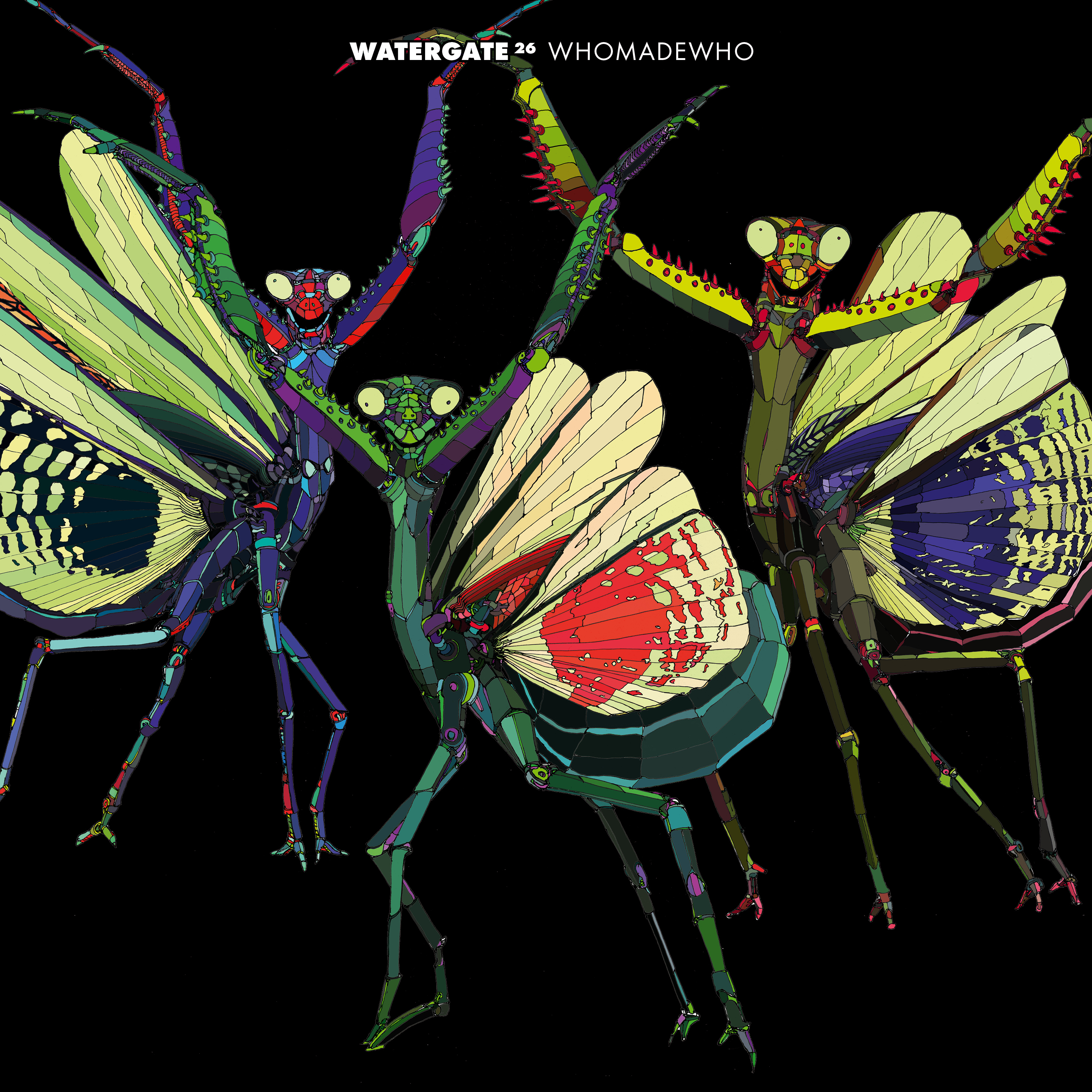 Watergate 26 mixed by WhoMadeWho