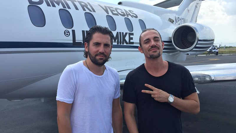 Dimitri Vegas & Like Mike en Tulum
