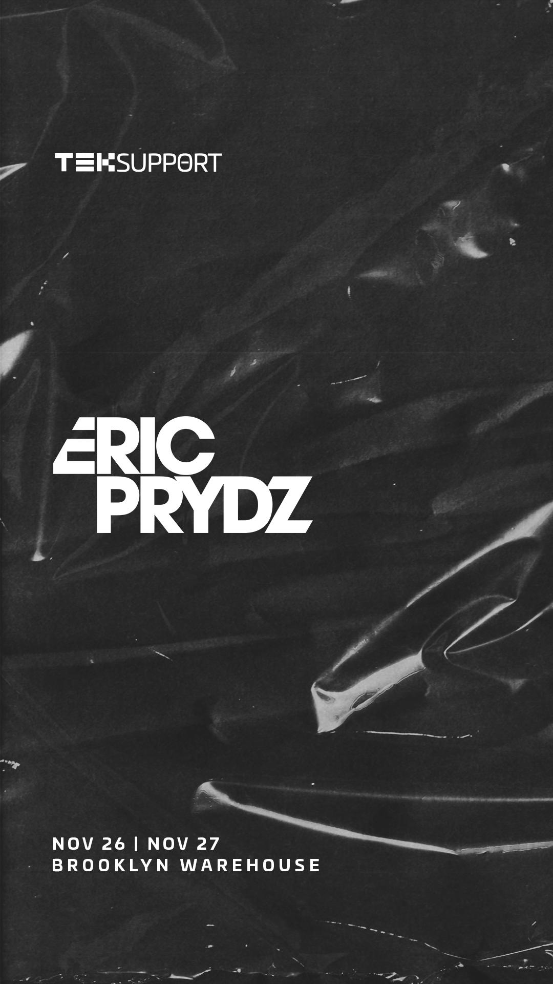 Eric Prydz Broolyn Mirage Flyer November 2021