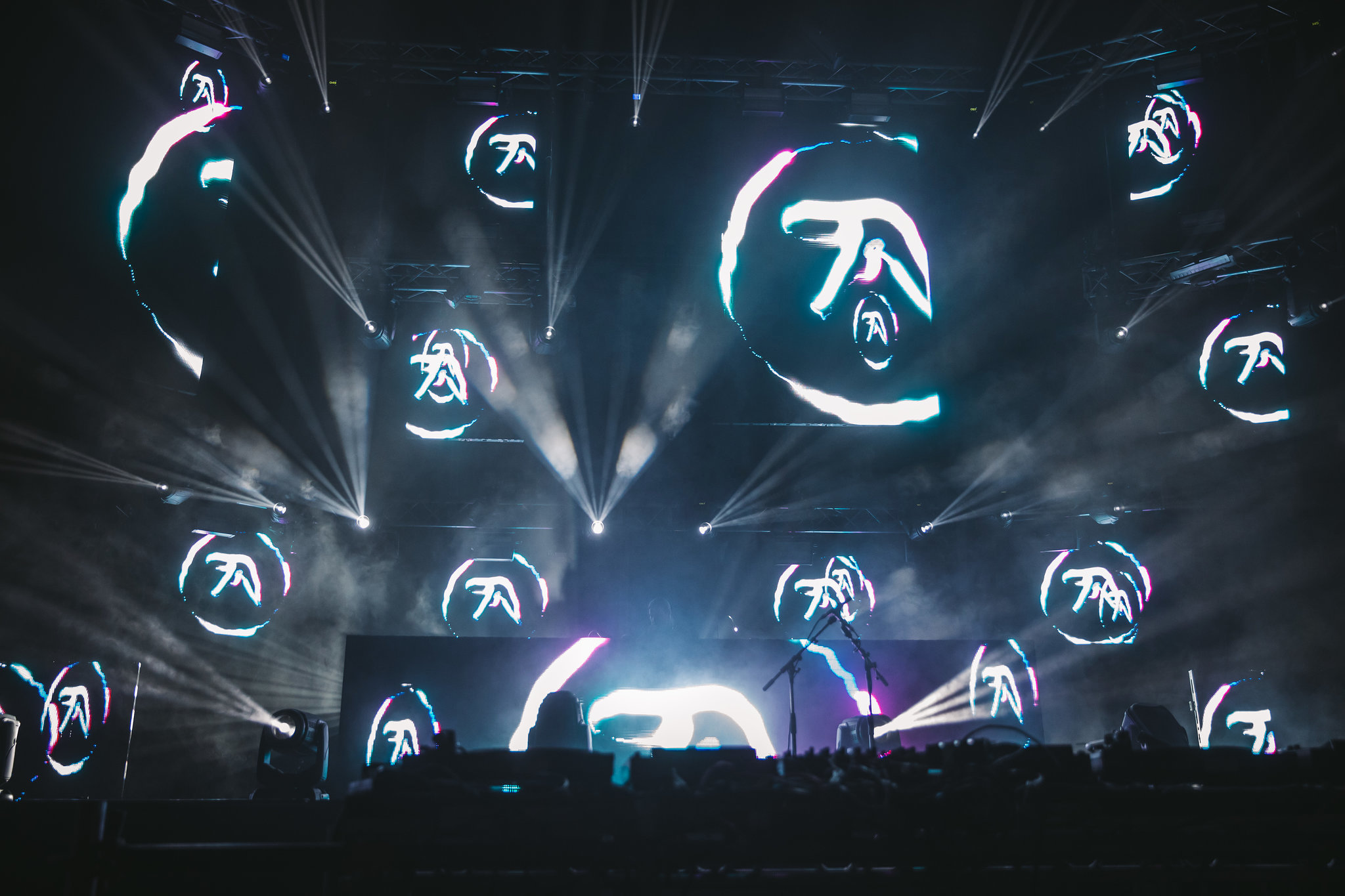 Warp Records releases new Aphex Twin record at London's Field Day festival
