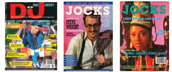 Old copies of Jocks and DJ