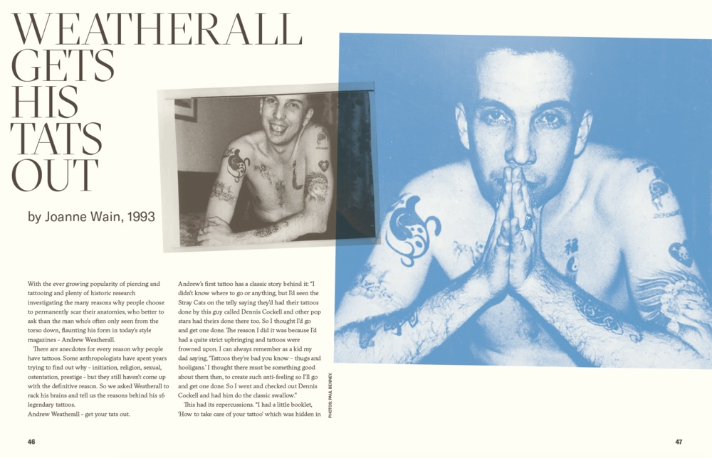 'Andrew Weatherall: A Jockey Slut Tribute' is available for pre-order now