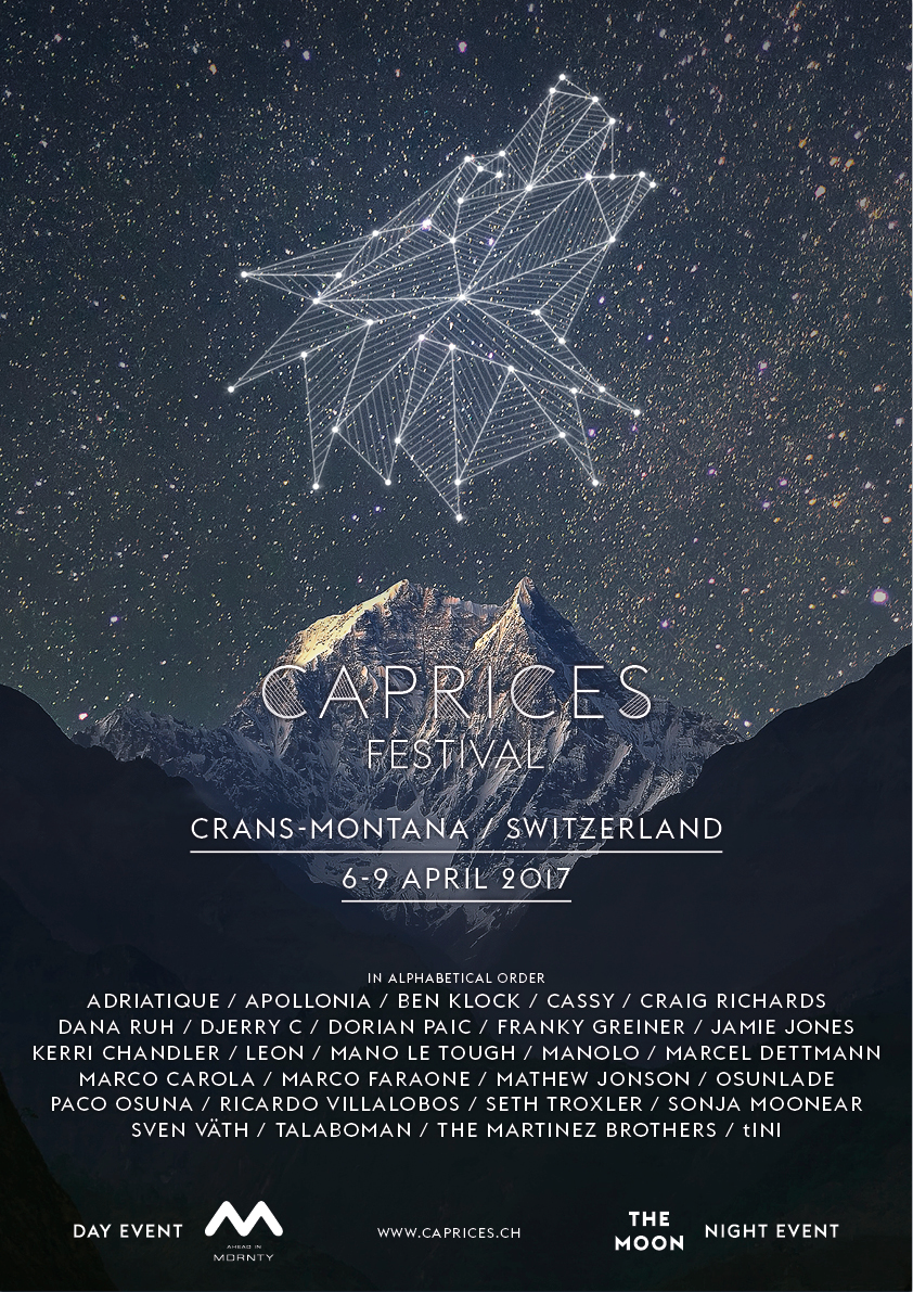 Caprices Festival 2017 Adds Craig Richards Mathew Jonson