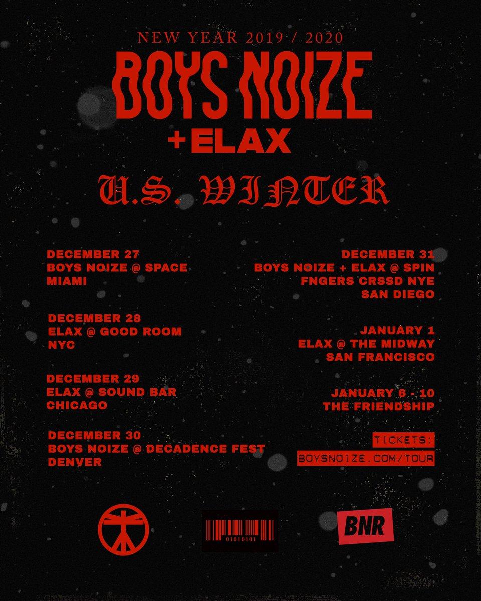 Boys Noize Tour