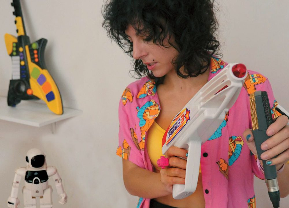 Step inside Giorgia Angiuli's weird and wonderful live show
