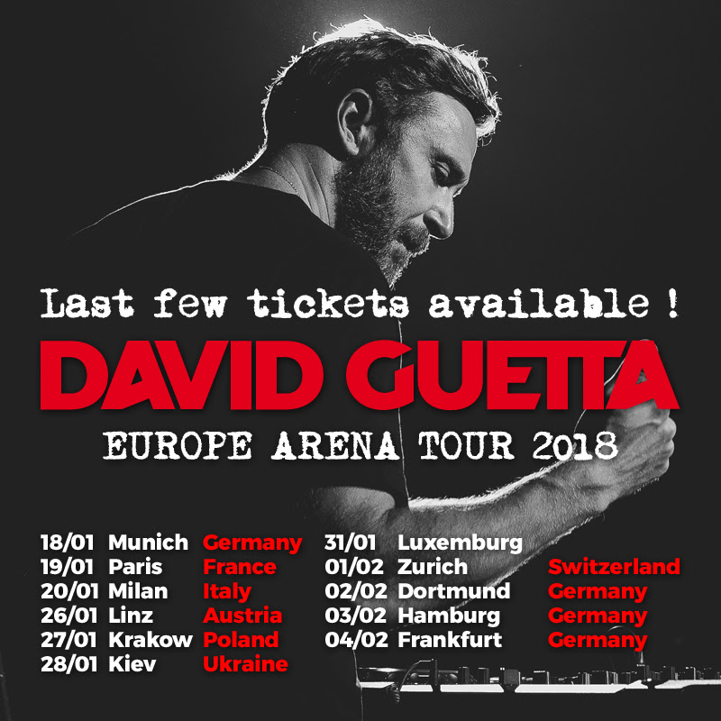 David Guetta kicks off his European arena tour