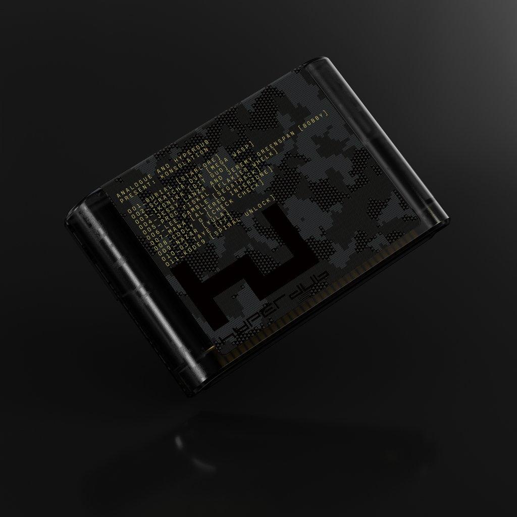 Hyperdub Sega Megadrive compilation