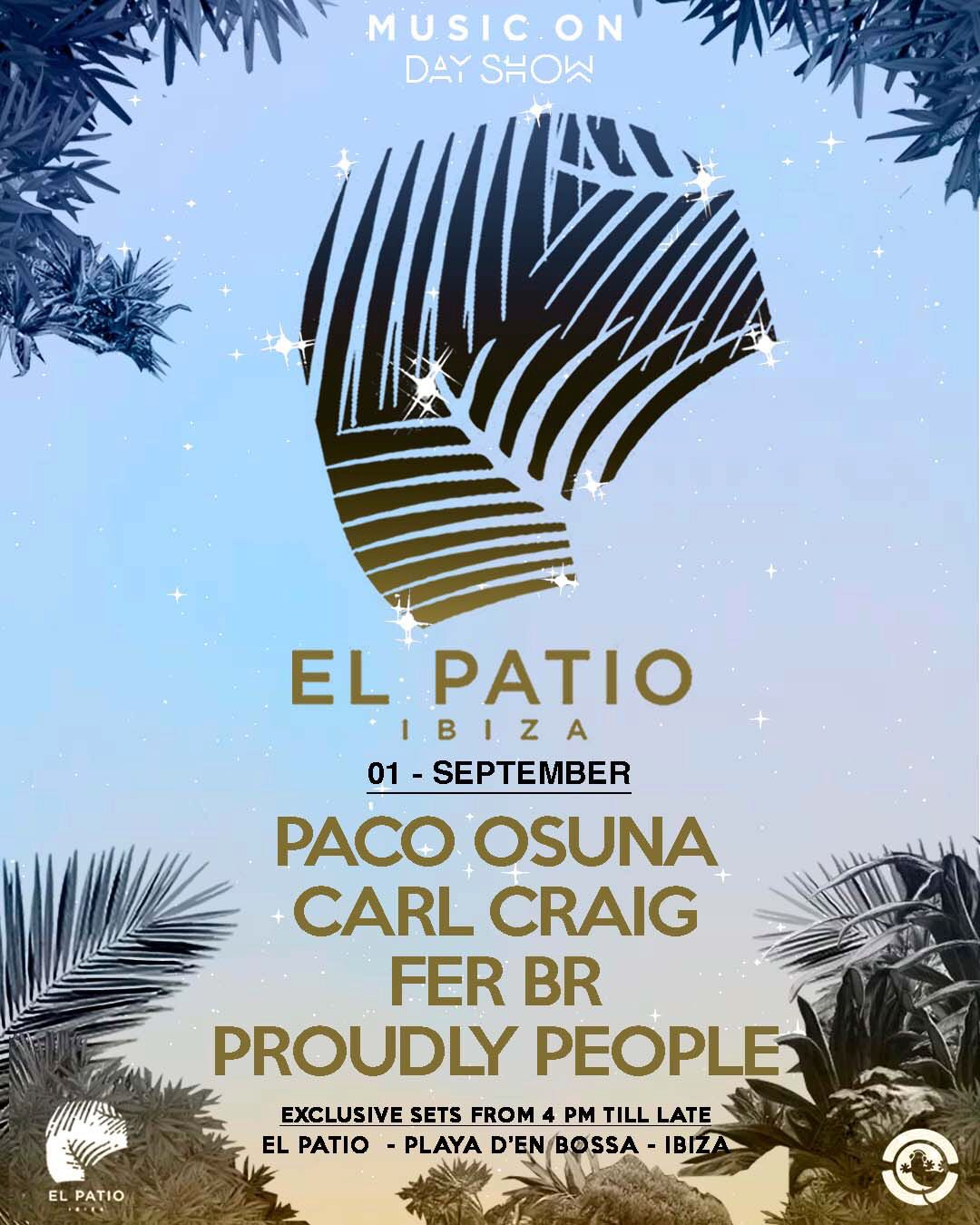 Carl Craig, Paco Osuna, more play Marco Carola's Music On Day Show this weekend