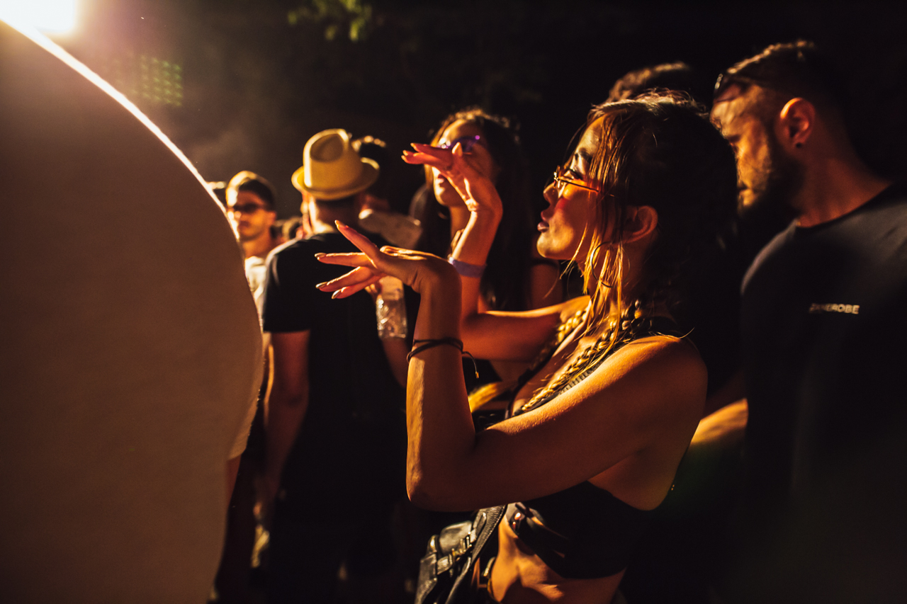Nina Kraviz's трип showcase at OFFSónar: 25 insanely amazing images