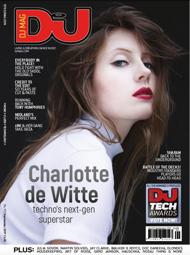 Charlotte de Witte is techno's next-gen superstar: UK cover feature