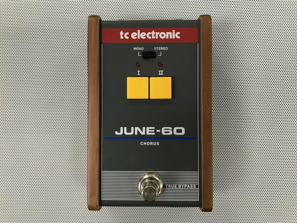 TC Electronic June 60 chorus pedal Juno 60 synth