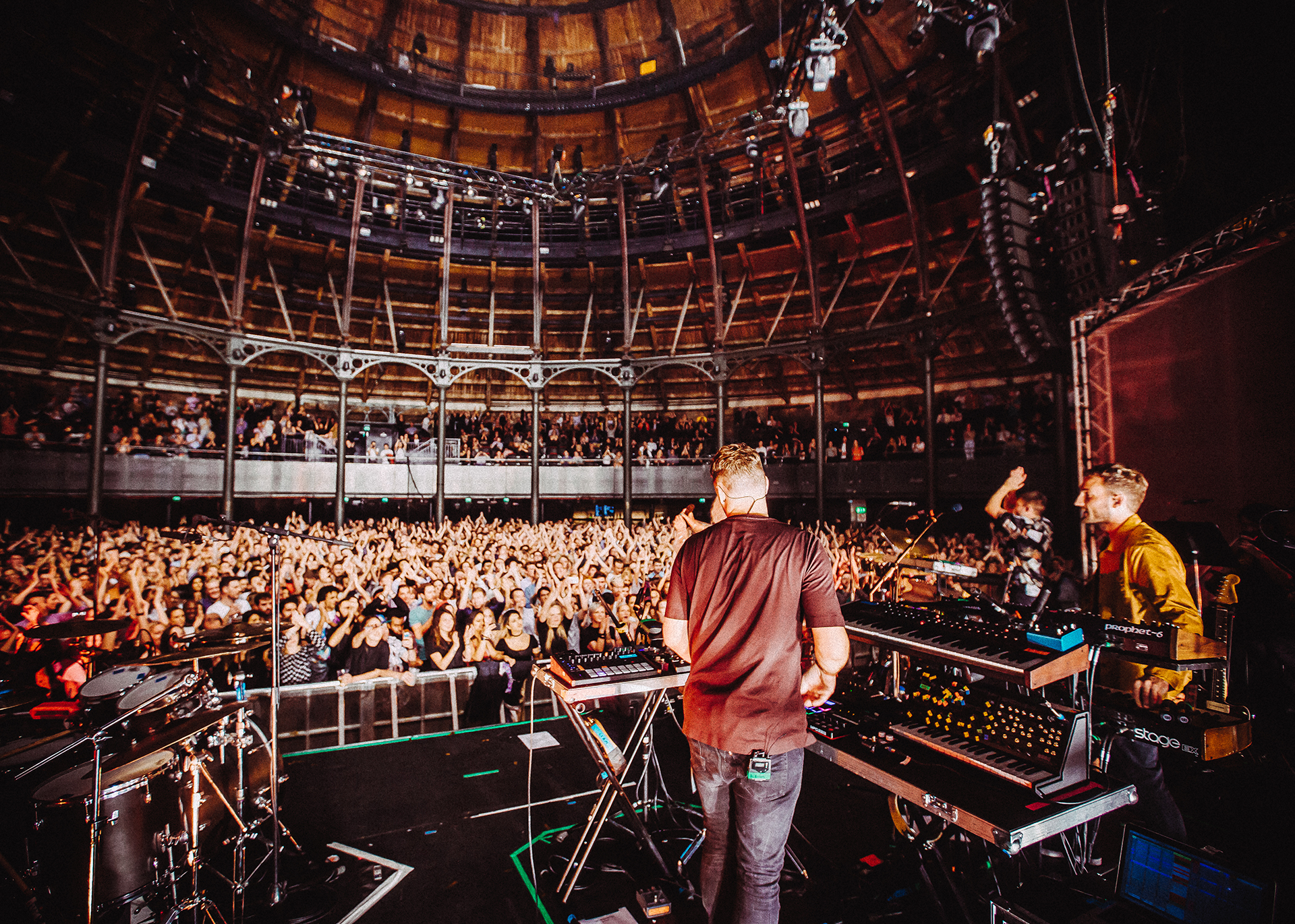 Maribou State live Roundhouse