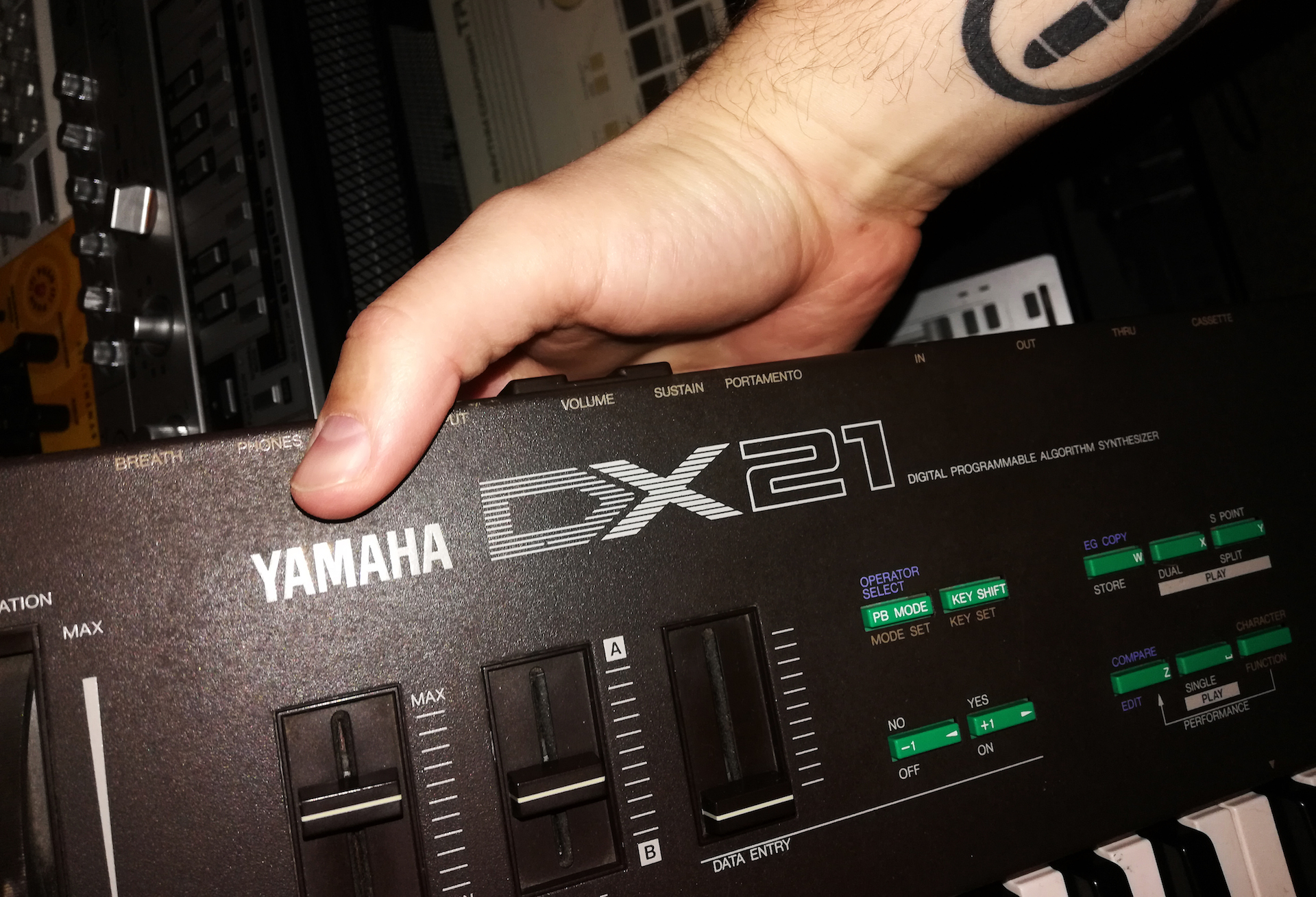 Why the Yamaha DX21 is Posthuman's go-to synth
