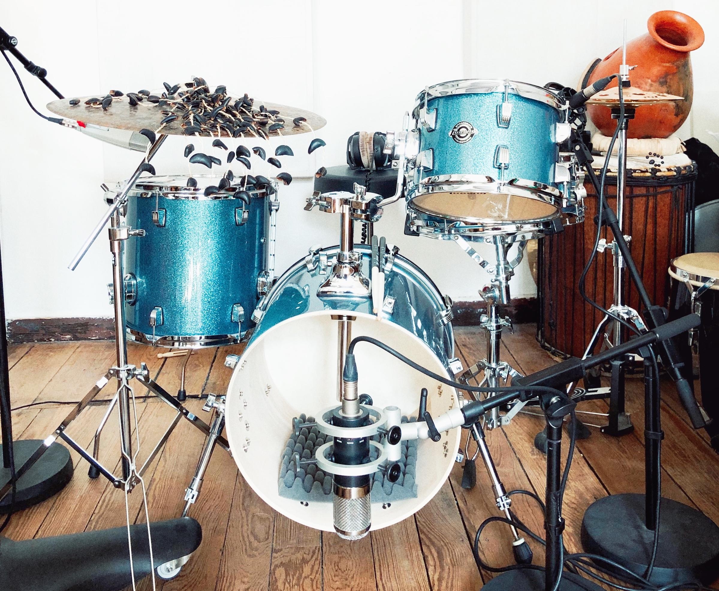 Johannes Brecht drums