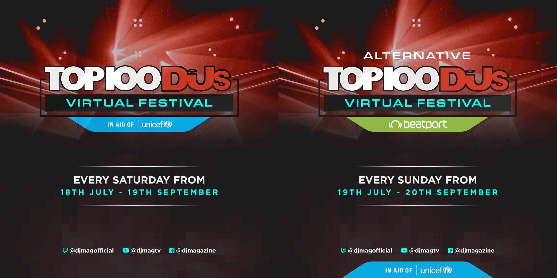 DJMag Top 100 Virtual Festival