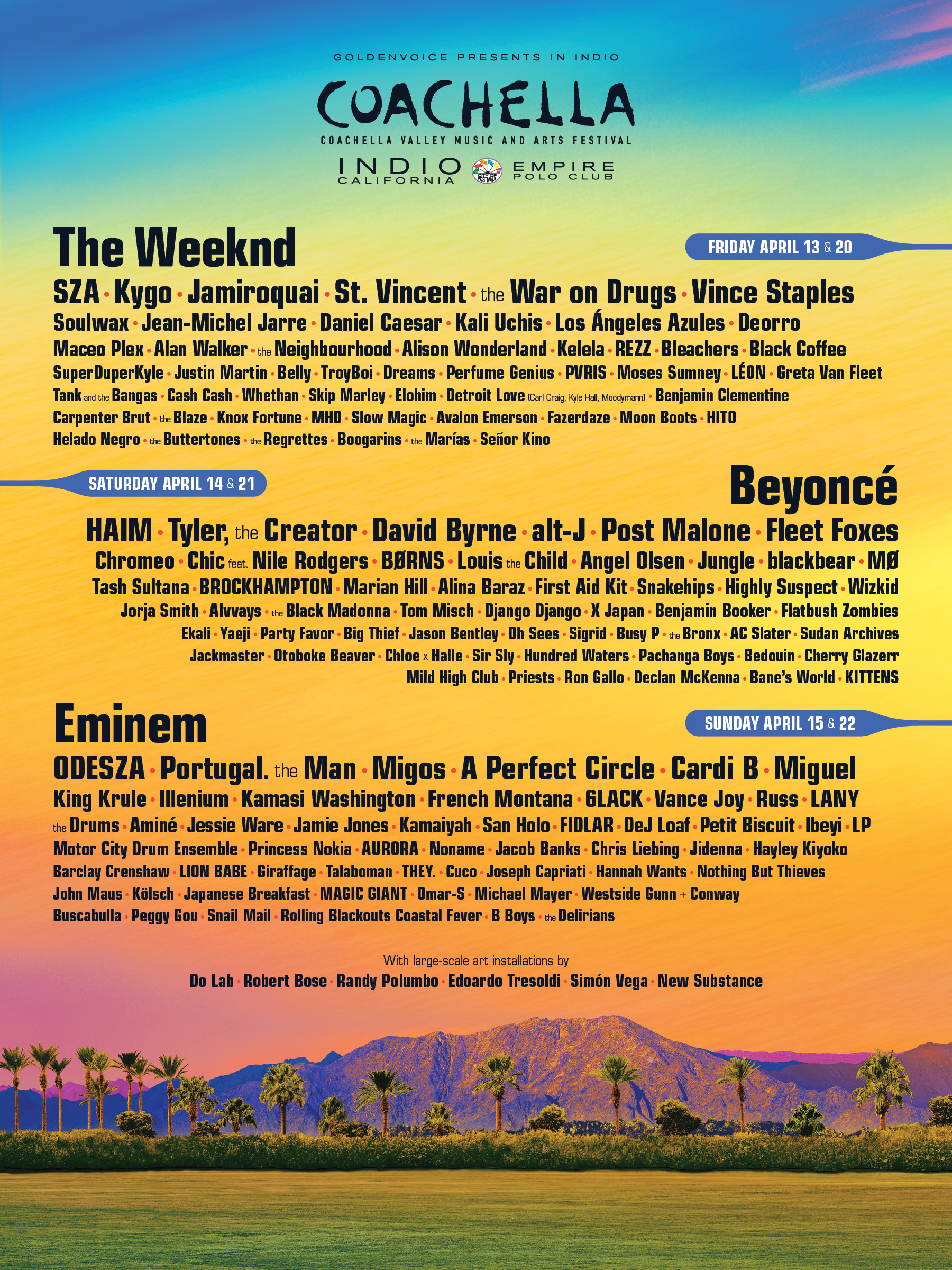 Coachella locks Maceo Plex, Jackmaster, Jamie Jones, Hannah Wants, Omar-S, more