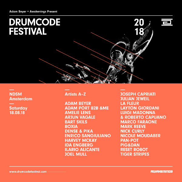 Drumcode Festival locks Nicole Moudaber, Amelie Lens, Pan-Pot, more
