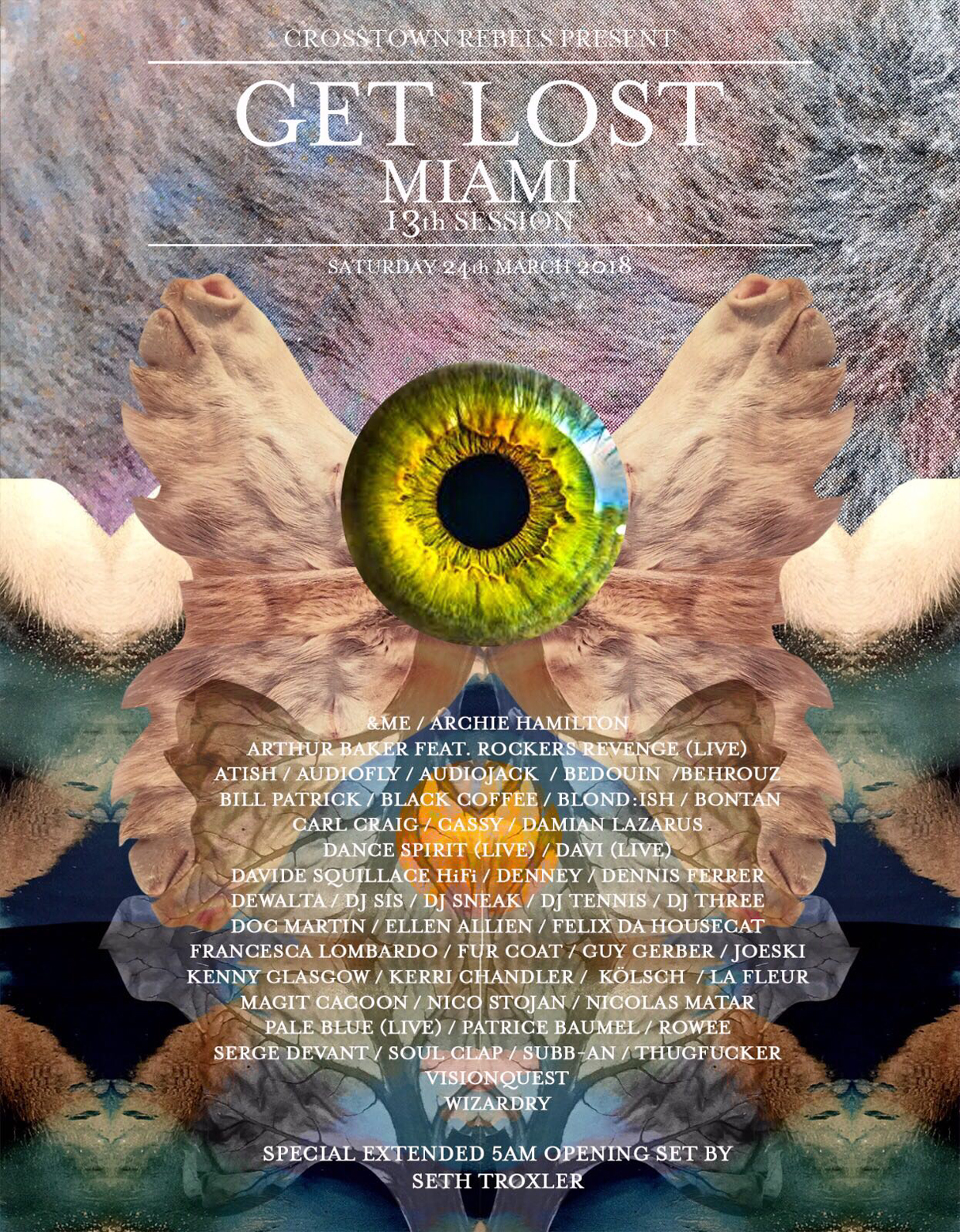 Damian Lazarus locks 40-artist-strong line-up for Get Lost Miami