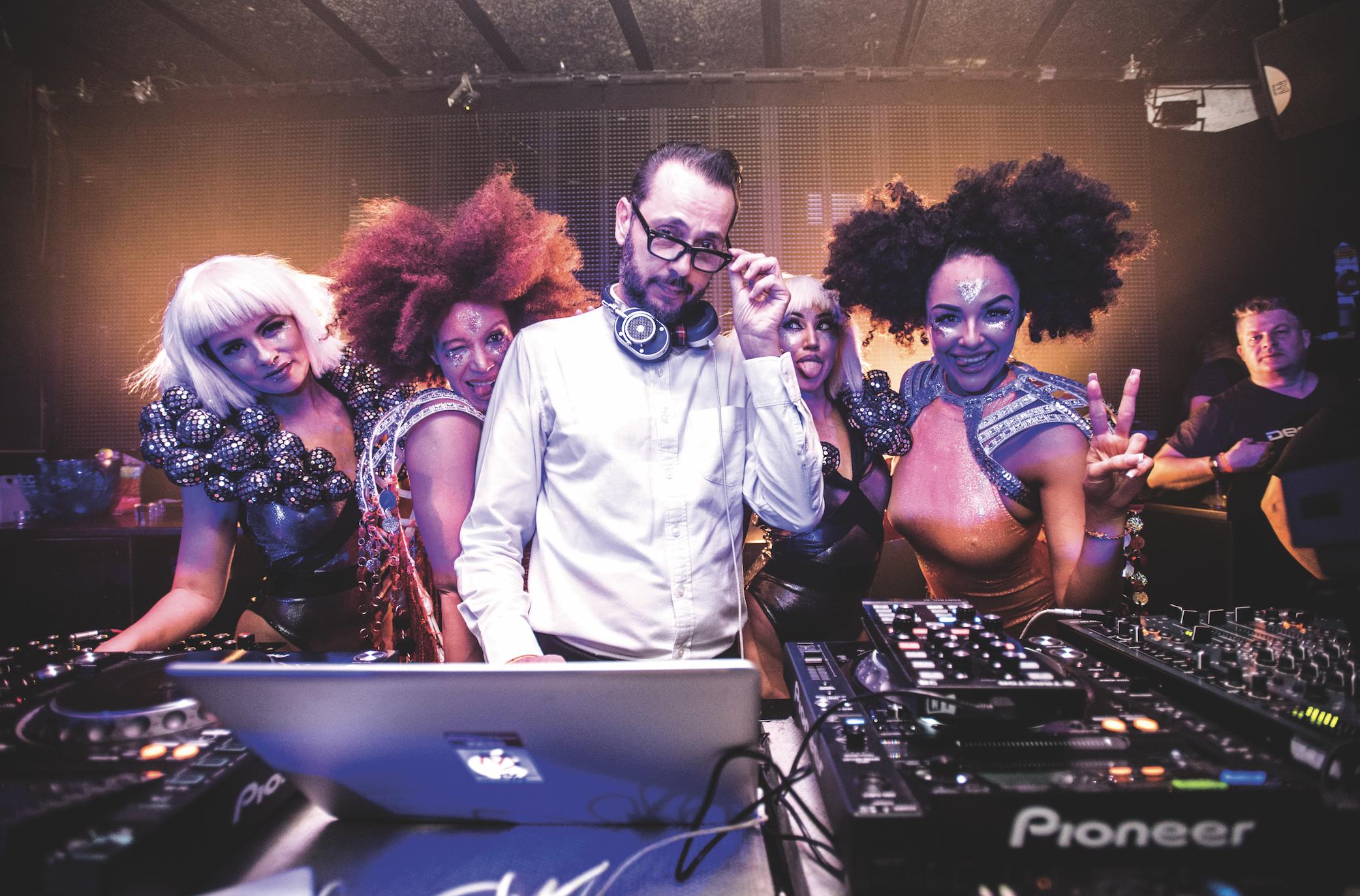 Glitter on the dancefloor: DJ Mag Ibiza meets Dimitri From Paris