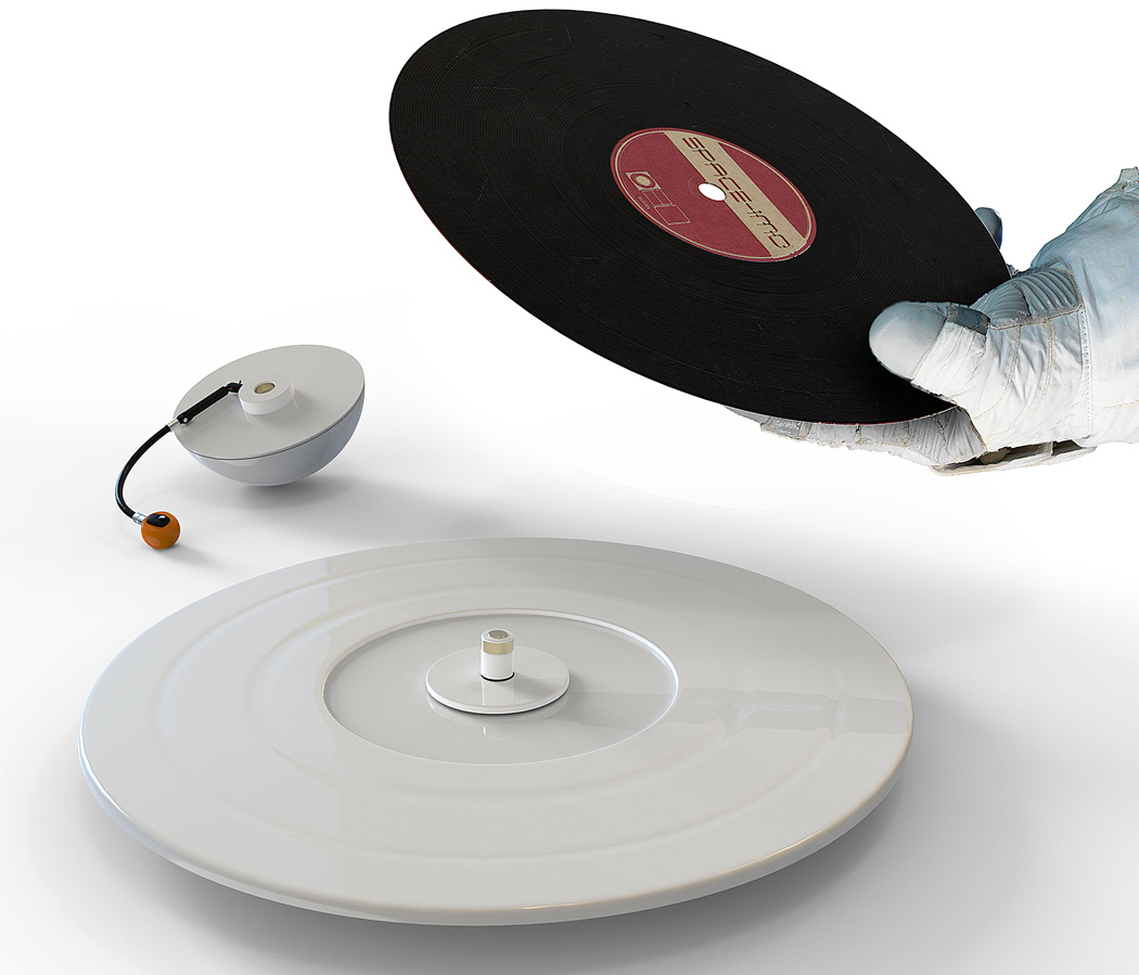 There S A New Turntable Shaped Like Saturn Djmag Com