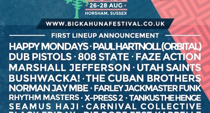 The Big Kahuna Line-up