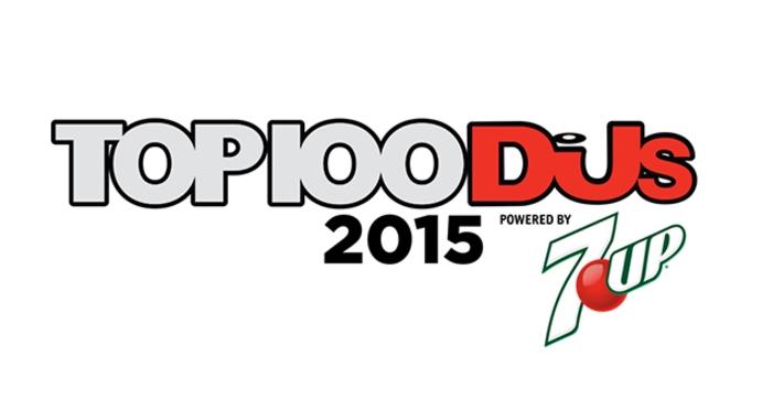 Top 100 DJs 2015 Logo 7UP