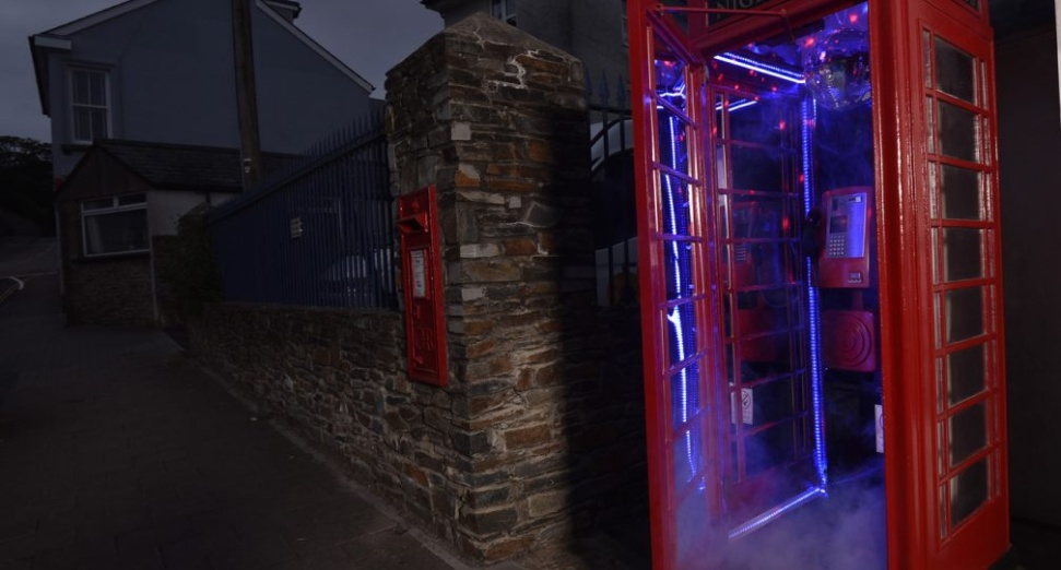 Phone booth world's smallest nightclub DJ Mag