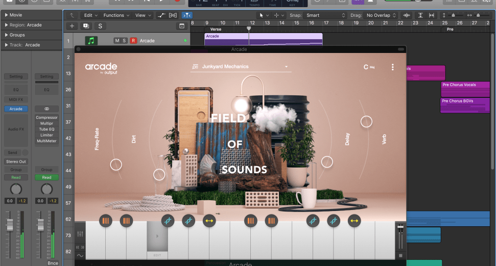 Output Sounds Arcade Plugin