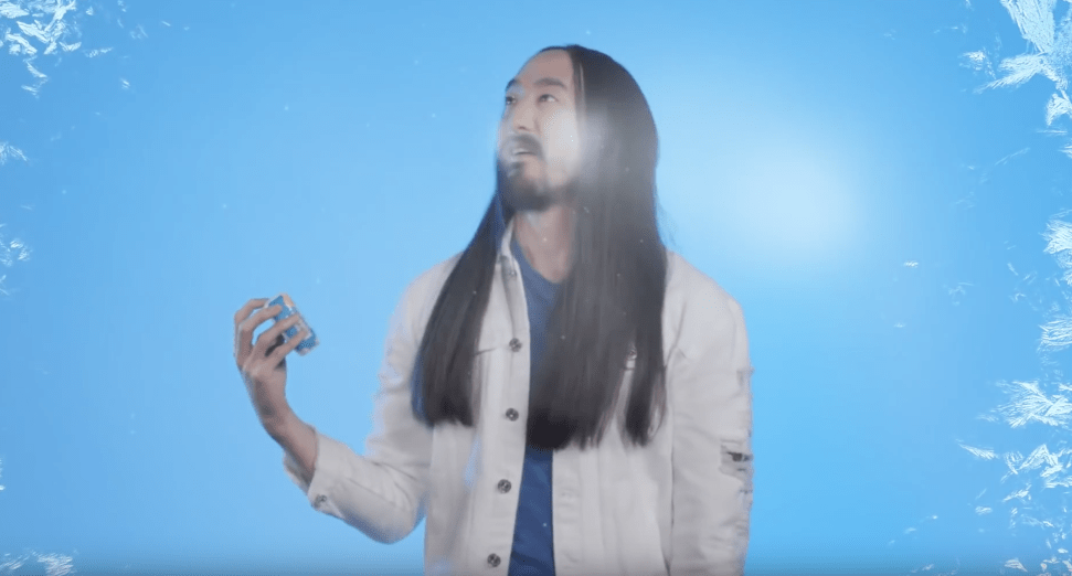 Steve Aoki is now a creative director for Tic Tacs