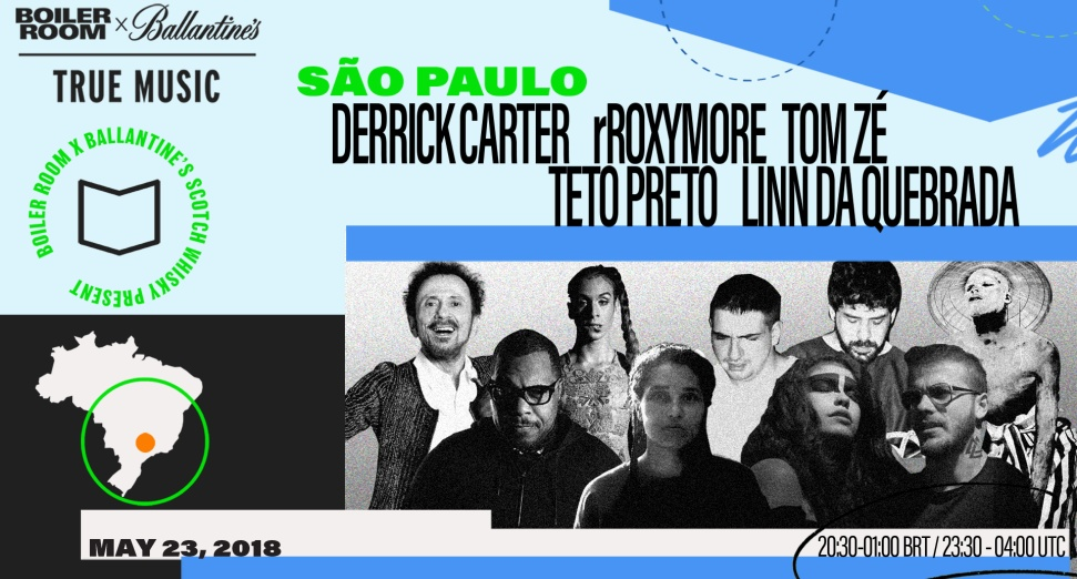 Watch Boiler Room X Ballantine's True Music: Hybrid Sounds, live from Sao Paulo