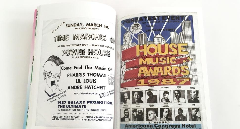This new book tells a visual history of Chicago house using classic rave flyers