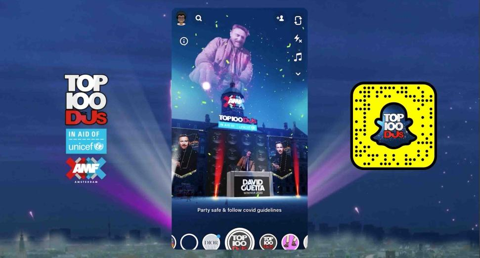 DJ Mag Partner with Snapchat - Top 100 DJs
