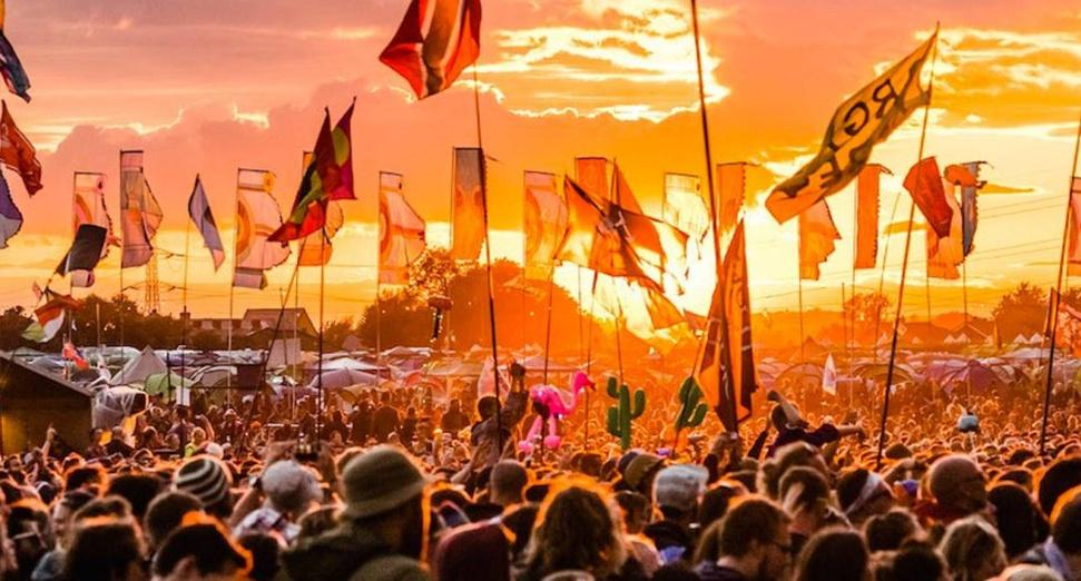 Glastonbury hottest on record