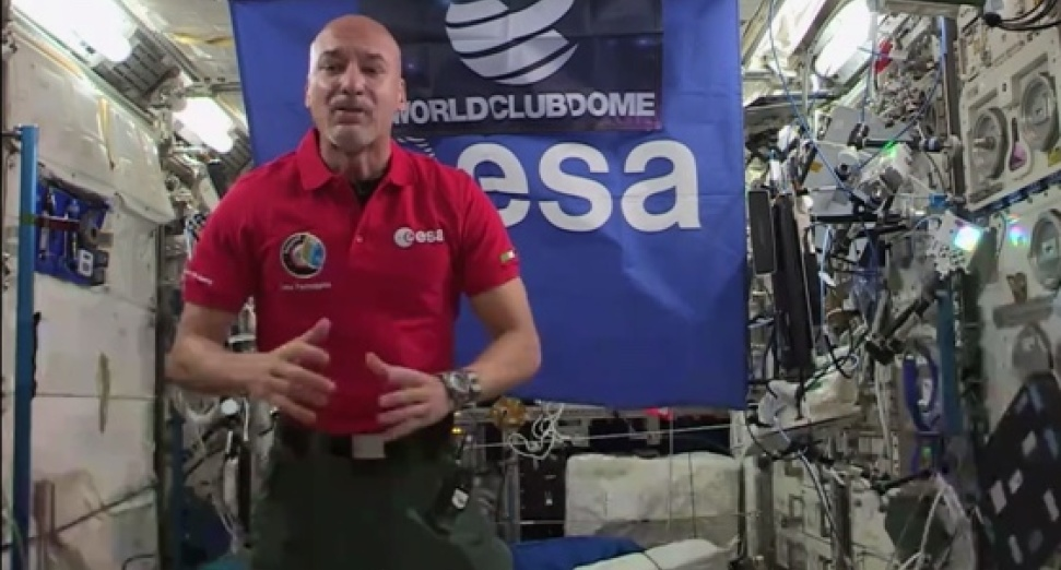 Watch an astronaut perform the first DJ set in space