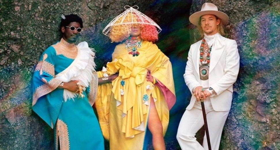 LSD- Diplo, Sia, Labrinth- drop new video for Thunderclouds