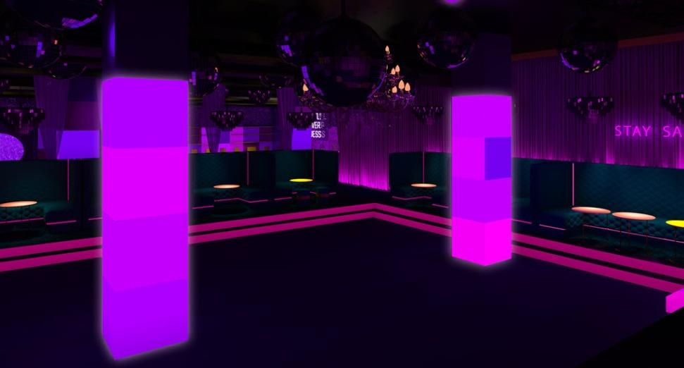 A new club, Glam, is opening in London next month