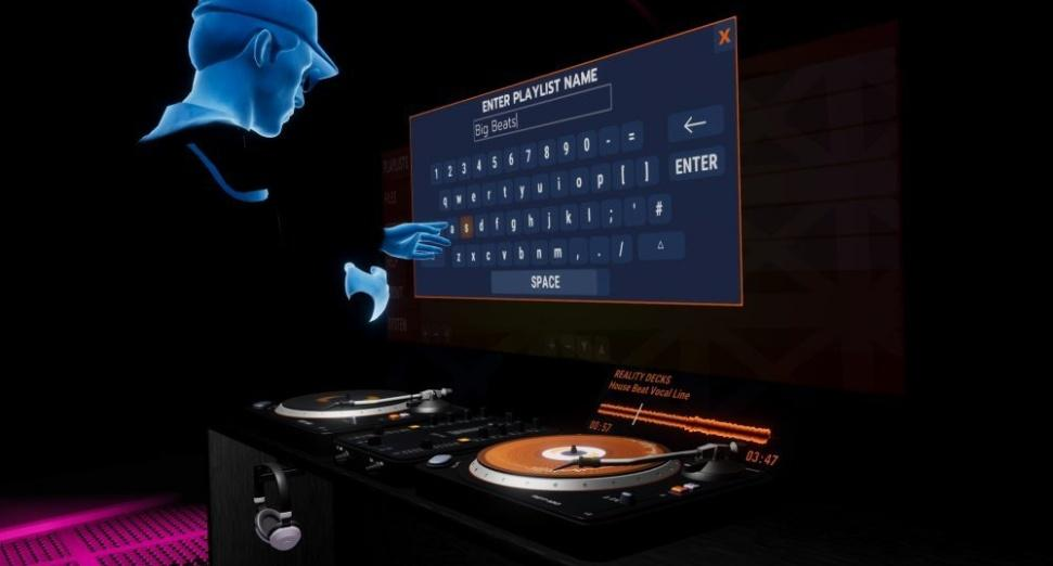 Virtual Reality DJ app, Reality Decks, released on Oculus