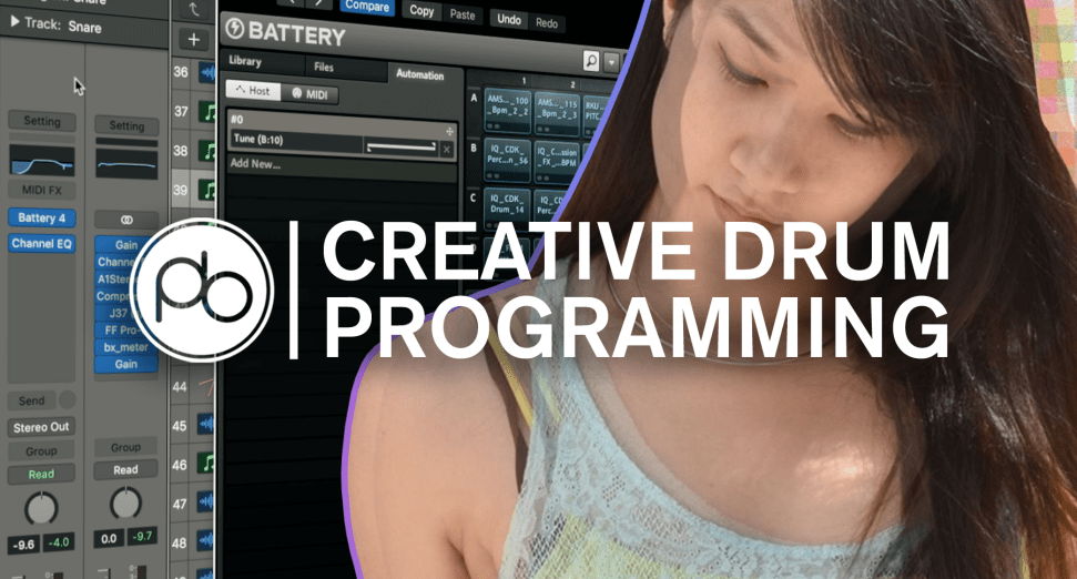 Learn How to Program Your Drums Creatively with Point Blank & Risa T