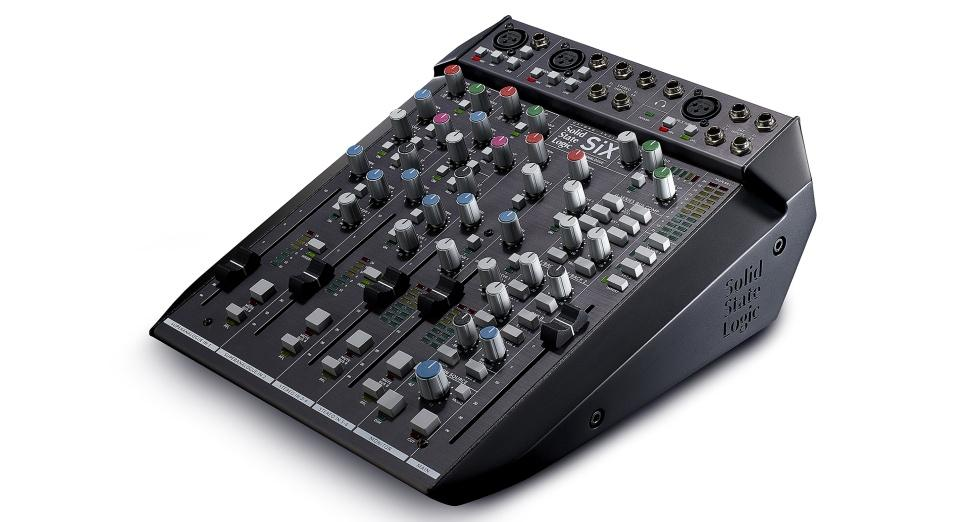 SSL's new desktop mixer brings legendary sound to your home studio: Watch