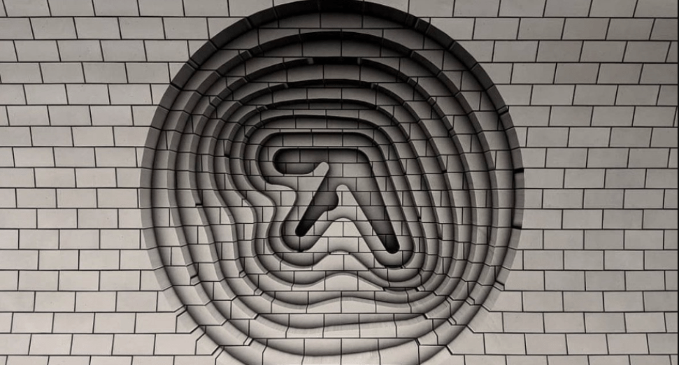 Mysterious Aphex Twin logos appear in London underground