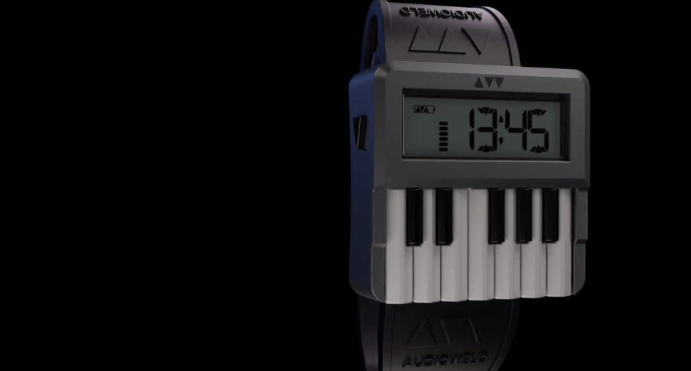 Synthwatch is the world's first wristwatch synthesiser